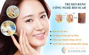 Công nghệ Bio Scar trị sẹo lõm hiệu quả tại Thẩm mỹ viện Kangnam