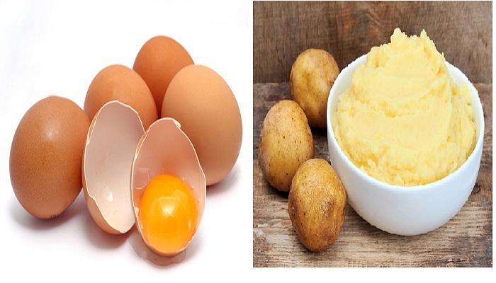 """""""Tự chế"""" mặt nạ lòng trắng trứng gà trị thâm dễ áp dụng nhất 9"""