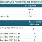 Xóa sẹo bao nhiêu tiền tại Bệnh viện thẩm mỹ Kangnam?