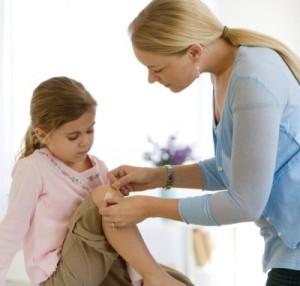 Phòng ngừa sẹo do bỏng ở trẻ nhỏ