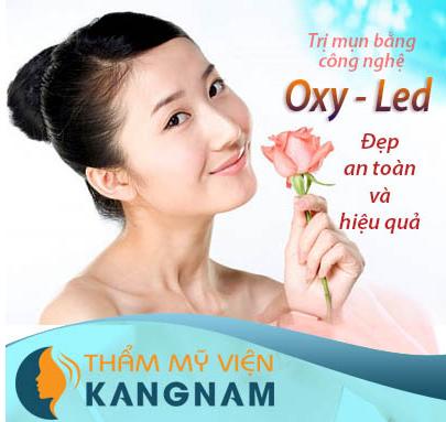 Đặc trị mụn bằng công nghệ Oxy - Led1